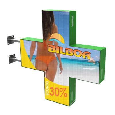 CM002 – Croce a led bifacciale Full Color 150