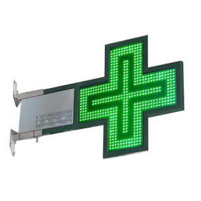 CM003 – Croce Led Farmacia slim700