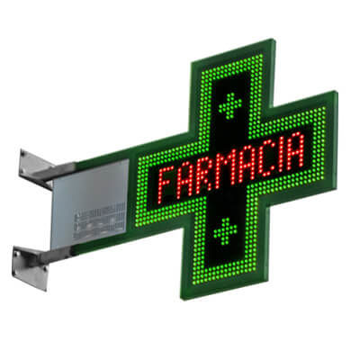 CM004 – Croce Led Farmacia slim900