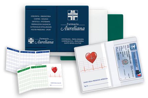 GG048 – Porta card con Diario Pressorio