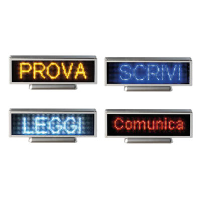 CM007 – Display a Led X-Line 18 monocromatico