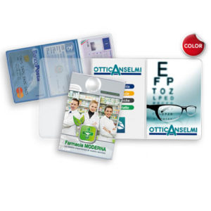 GG046 – Porta card 3 ante in PVC