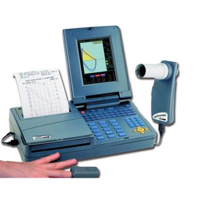 AD010 – Spirometro con schermo a colori