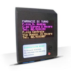 CM005 – Bacheca turni elettronica