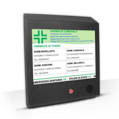 CM006 – Bacheca turni elettronica GTFarm LCD