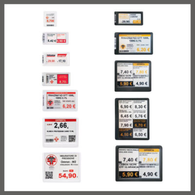 CM014 – Etichette elettroniche per Farmacia